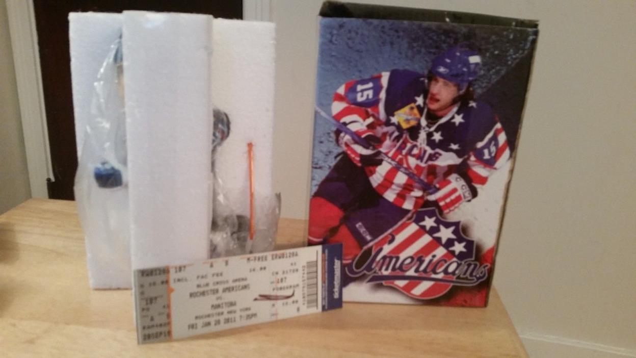 Rochester Americans Jason Pominville Bobblehead Amerks Stadium Giveaway SGA