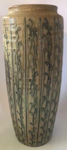 Mid Century Modern Japanese Artisan STUDIO ART POTTERY Vase Modernist 12