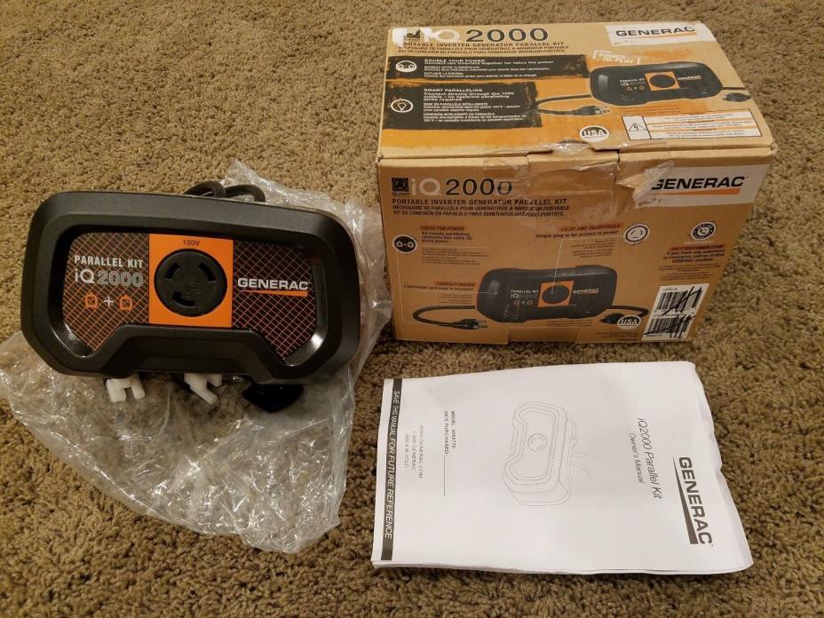 New Generac iQ2000 Portable Inverter Generator Parallel Kit (6877)