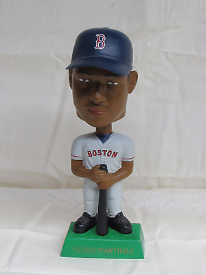 Pedro Martinez 2001 Upper Deck Playmakers Bobblehead Red Sox Grey Jersey