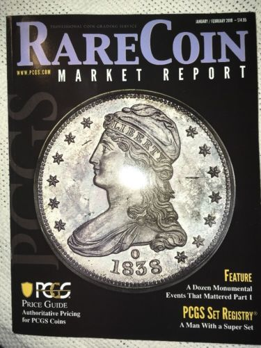 2018 PCGS Rare Coin Market Report 2018 January February Magazine