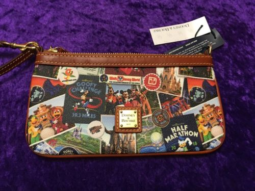 RunDisney Walt Disney World Marathon Weekend 2018 Dooney And Bourke Wristlet #3