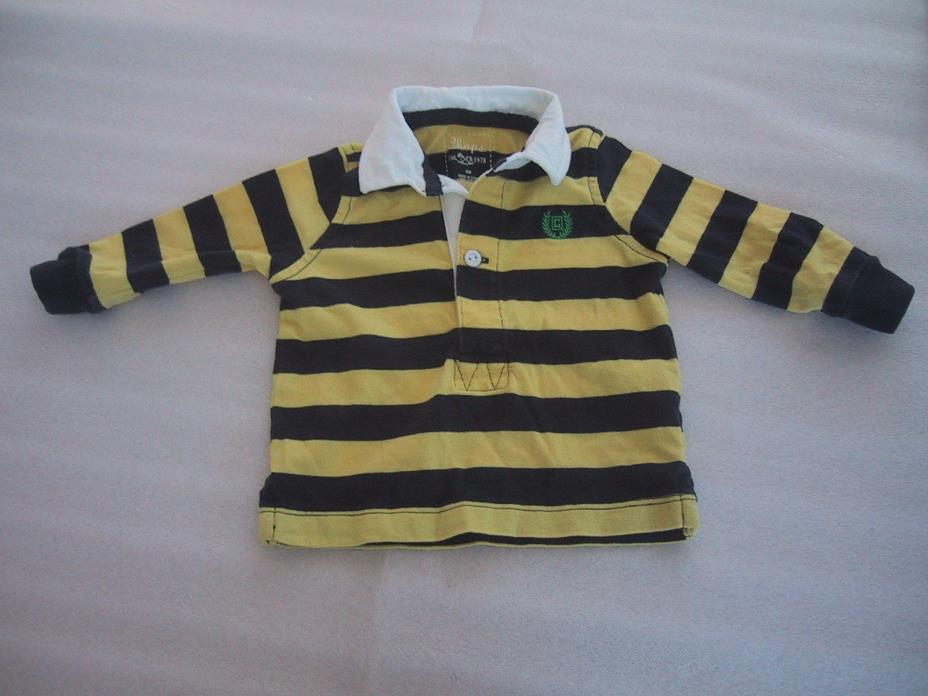 Boys Chaps Polo Rugby Striped Shirt for your little man Size 3M Portrait Church