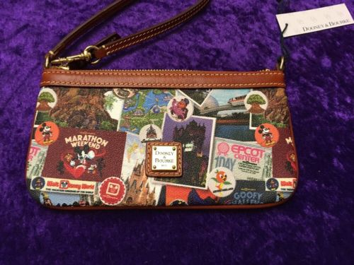 RunDisney Walt Disney World Marathon Weekend 2018 Dooney And Bourke Wristlet #1