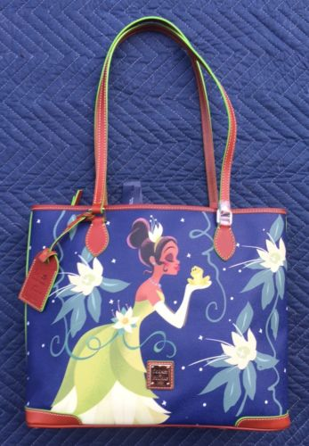 DISNEY Dooney & Bourke TIANA Princess & Frog Tote Purse Bag - NWT