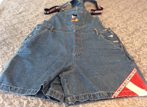 Mickey Unlimited Women's Coveralls Shorts Size Extra-Large