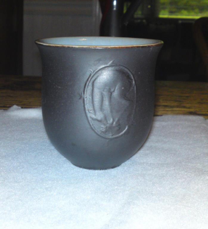 Small Wormser Terra-Sigillata Vase w/deer on front - Made in Germany