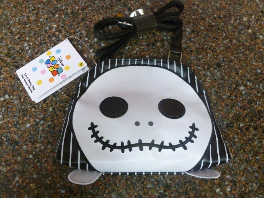 Disney Store Skellington Tsum Nightmare Before Christmas Crossbody Bag Purse