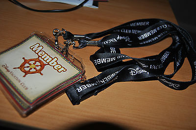 2 DISNEY VACATION CLUB MEMBER LANYARDS WITH ID HOLDER