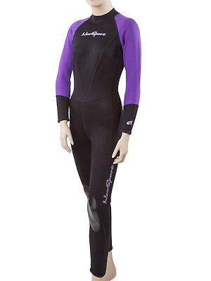 Neosport Neoskin women's back-zip full wetsuit