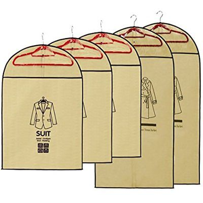 Dust Proof Garment Bag Covers For Men And Women Clothing Suit Bag, Dress Jacket