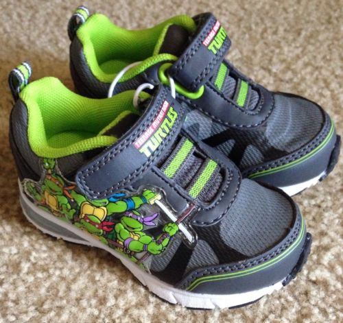 New Toddler Boy Size 6 Teenage Mutant Ninja Turtle Sneakers Shoes