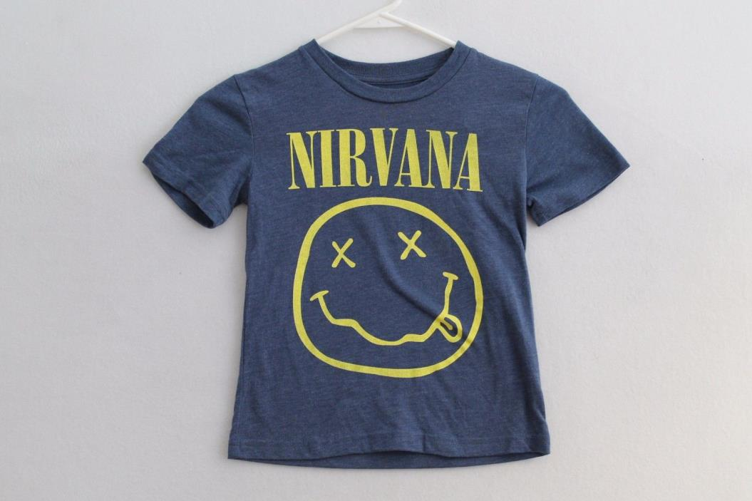 Nirvana Baby Toddler T-shirt Size 12M Color Blue
