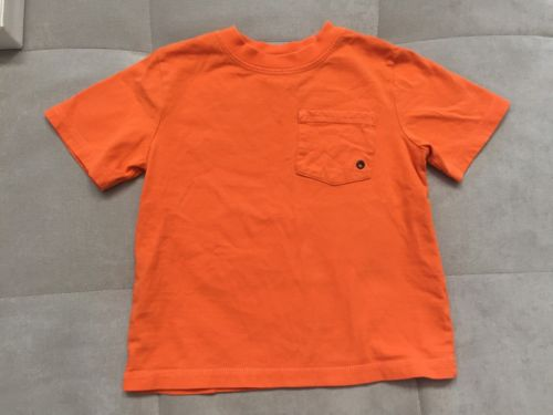Gymboree Shirt Size 3 Orange Boys Toddler Light Cotton