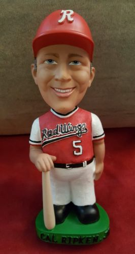 CAL RIPKEN JR ROCHESTER RED WINGS BOBBLE HEAD