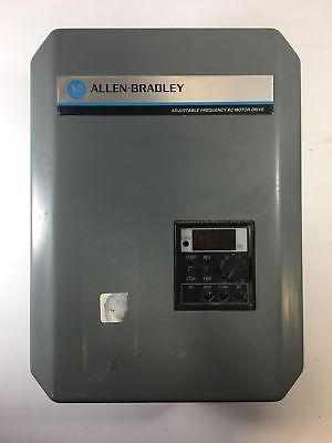 Allen-Bradley A4-2.2kW Adjustable Frequency AC Motor Drive Used