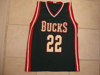 Milwaukee Bucks NBA basketball Youth Jersey M