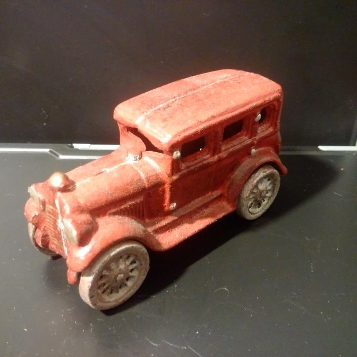Cast Iron 1920's Style Sedan Toy