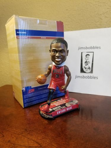 Dwayne Wade Chicago Bulls NBA LE Forever Collectibles NIB 2017 Bobblehead