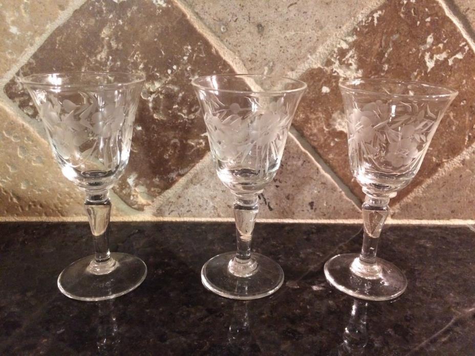 CORDIAL SHOT GLASS - SET OF (3)