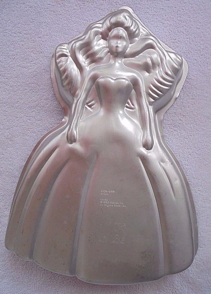 Wilton Barbie Cake Pan Vintage from 1992