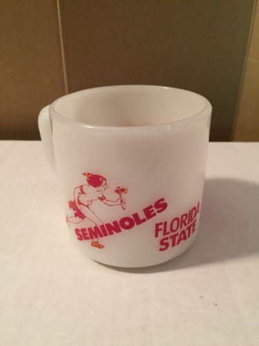 VTG Florida State University Seminoles FSU Red Lobster Coffee Tea Cup