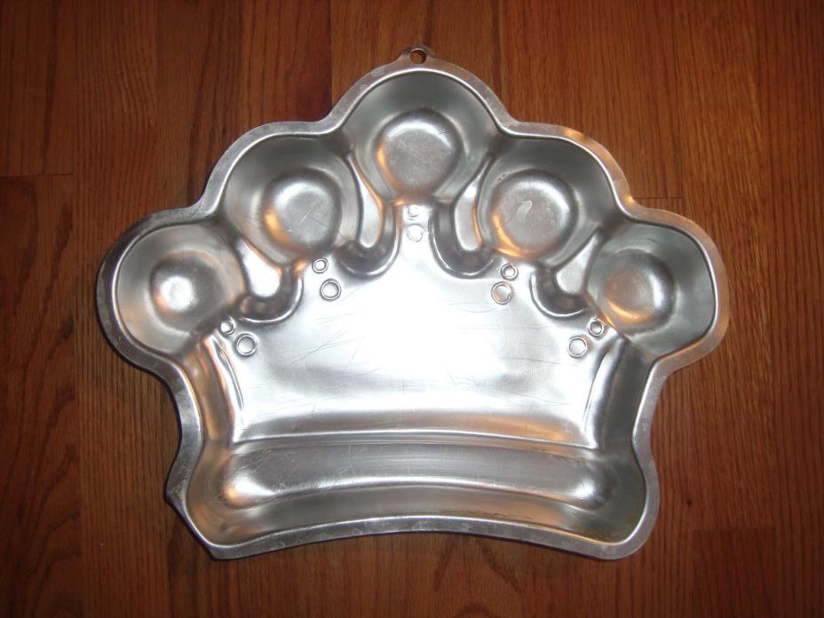 Vintage WILTON 2006 2105-1015 Crown Cake Pan