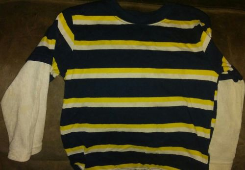 boys long sleeve stripped t shirt size 3t