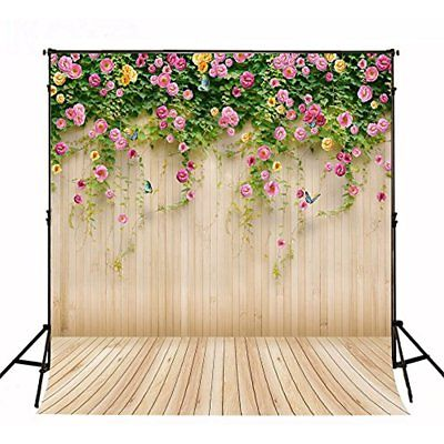 Fasmov Backgrounds Suede Cloth Flower Photo Props Studio Backdrop Photography