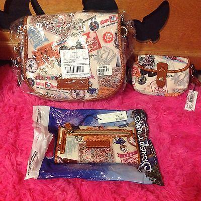 Dooney & Bourke Walt Disney World 40th Anniversary Messenger Handbag NWT SALE