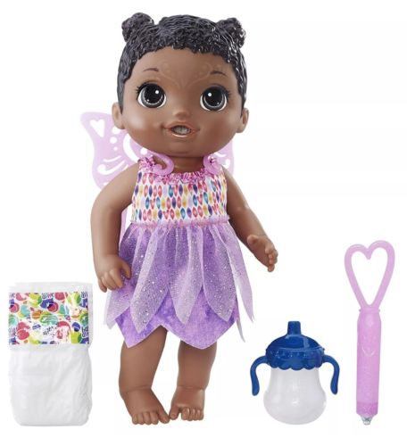 Baby Alive Face Paint Fairy baby doll AA African American 13