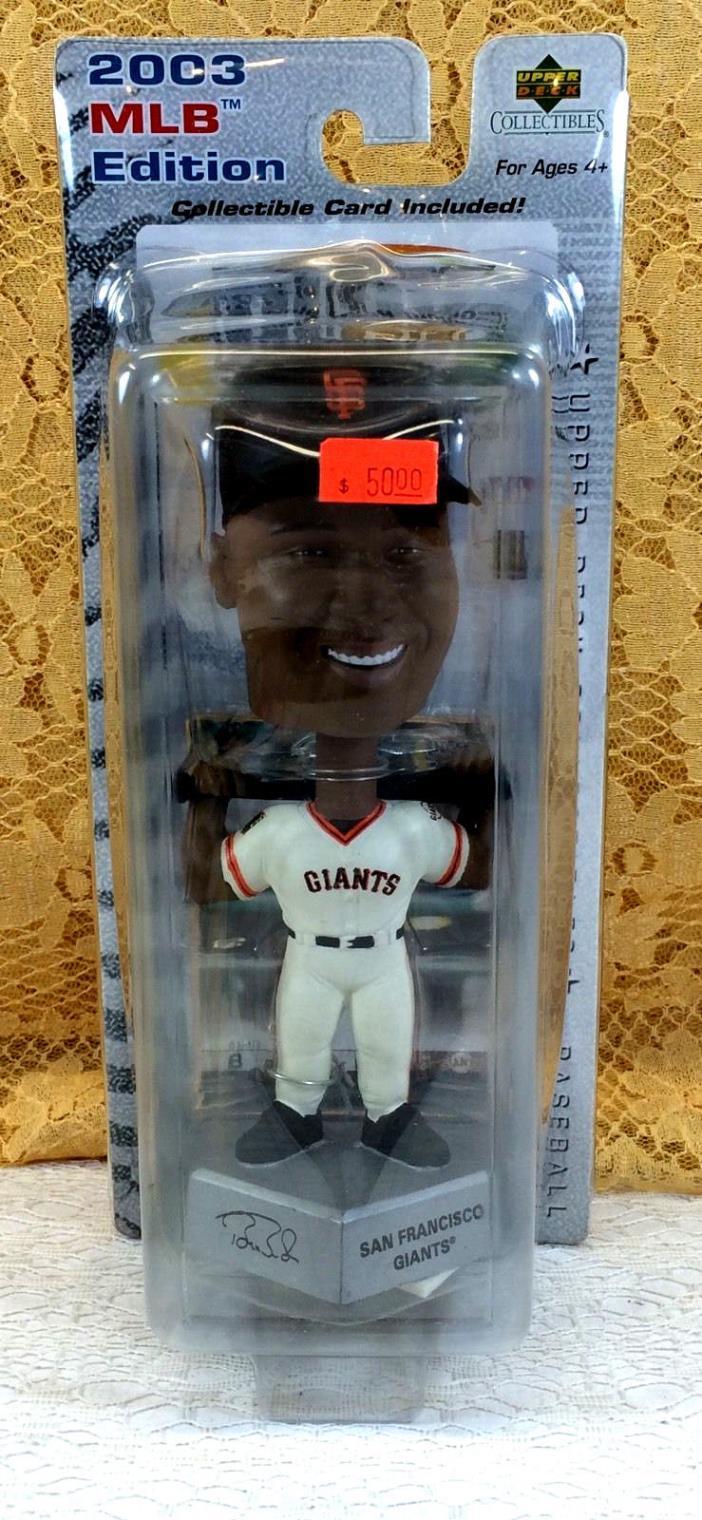 2003 MLB Upper Deck Barry Bonds Bobble Head NIB Collectible Giants Baseball GIFT