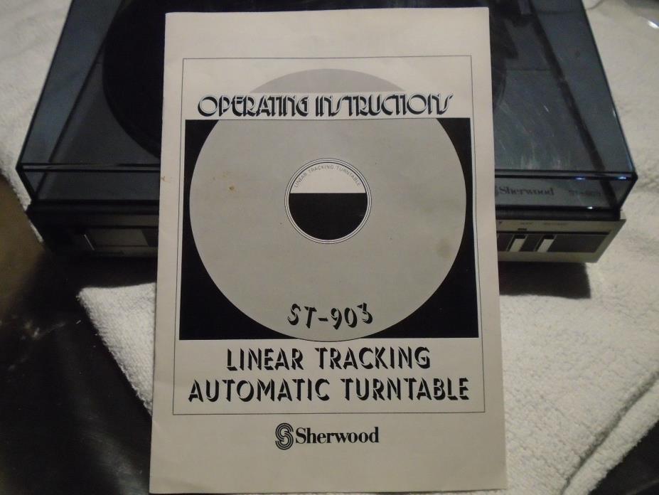 Sherwood ST-903 Turntable Vintage *SERVICED* Made In Japan