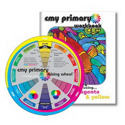 Color Wheel Company : CMY Primary Mixing Wheel and Workbook - NEW