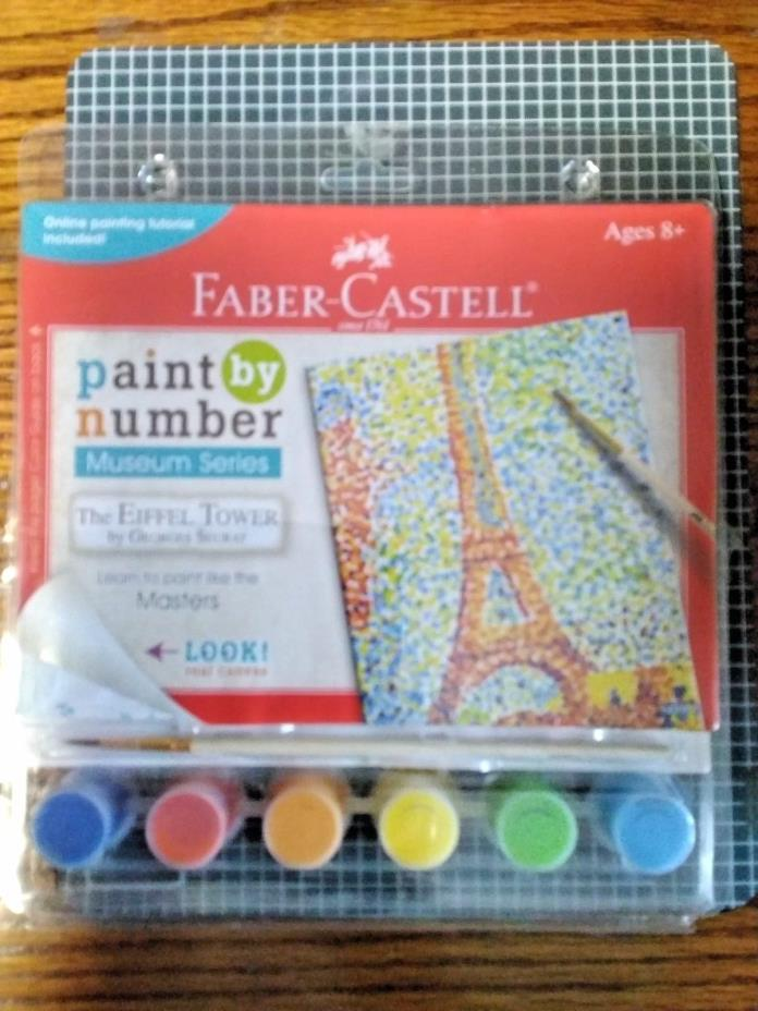 Faber-Castell Paint By Number Museum Series The Eiffel Tower # 14300 by Georges