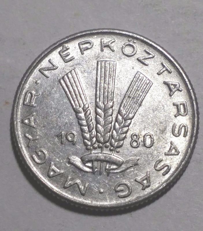 1980 20 Filler Hungary Coin