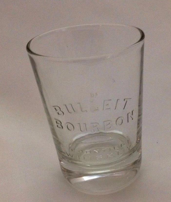 BULLEIT Frontier Kentucky Bourbon Whiskey Oval Shot Glass