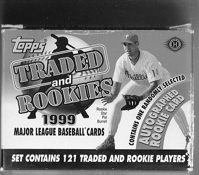 1999 Topps Traded & Rookies set