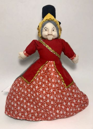 Alice in Wonderland Fairytales Alive Piccadilly London 3 in 1 Flip Doll Rare