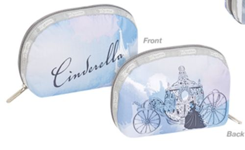 NWT Disney LeSportsac CINDERELLA Dome Cosmetic Bag It was Like a Dream Pouch NEW