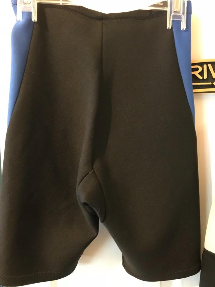 REEF Wetsuit Shorts Blue Black for Youth or Unisex Small
