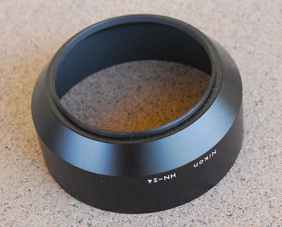 Nikon HN-24 Metal Lens Hood for 100-300mm AF 70-210mm AF 75-300mm 70-210mm F4