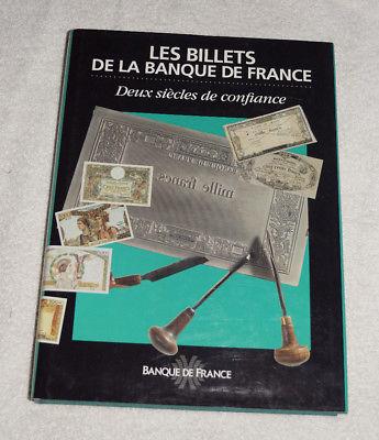 Les Billets de la Banque de France - Deux siecles de Confiance (1994)