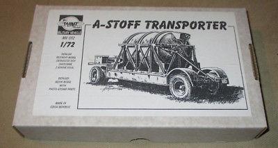 Planet Models A-Stoff Transporter 1:72 Resin Model Kit MV 012 Tank Photo-Etched