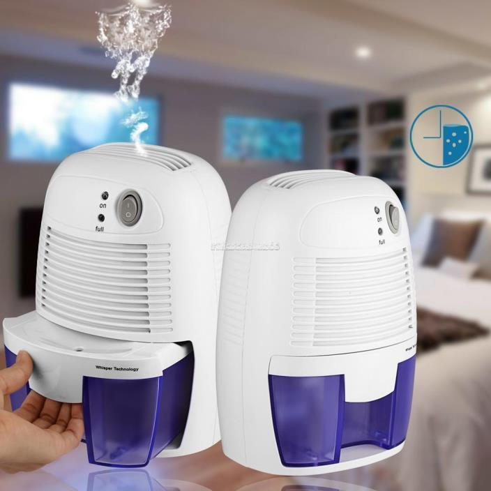 Mini Small Electric Dehumidifier for for Basement Bedroom Kitchen Bathroom ZZ