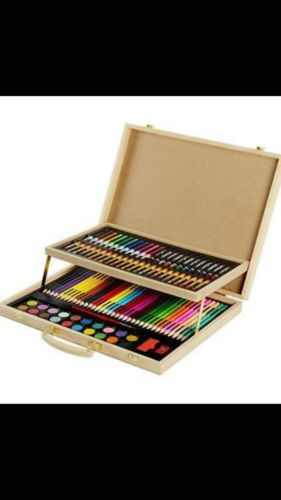 CONDA and Kiddy Color A199247 Kid's Painting Case for Coloring, 126 Piece
