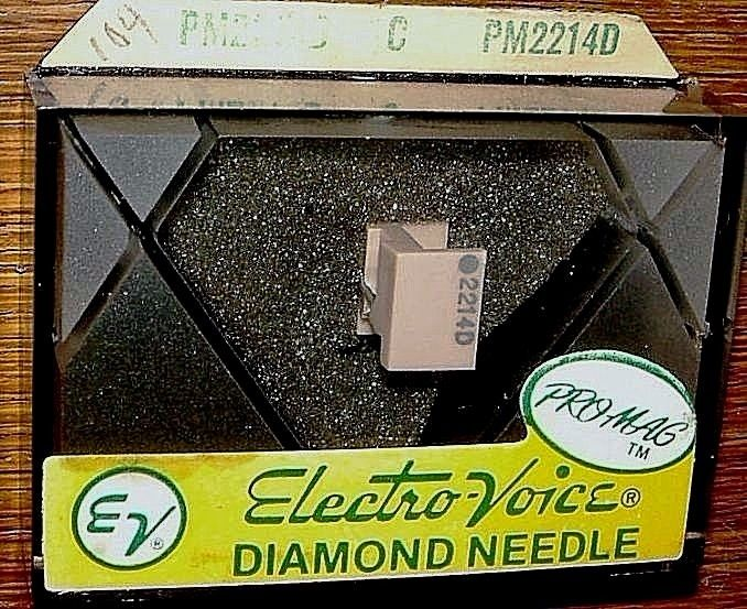 Diamond Turntable stylus EV PM2214D for ADC R-20X R-90X R-220X 10E Mk IV, 104-D7
