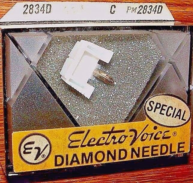 DIAMOND Phonograph NEEDLE EV PM2834 for Sony ND-113A ND113P VM-9P, N492 621-D7