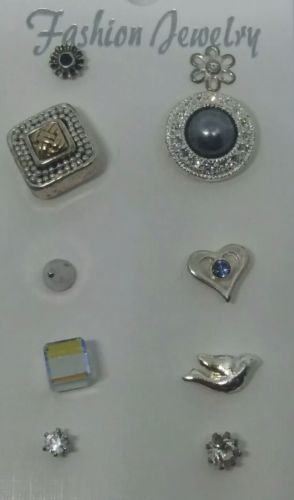Post-back Stud Pierced SINGLE EARRING Mixed Lot #A766