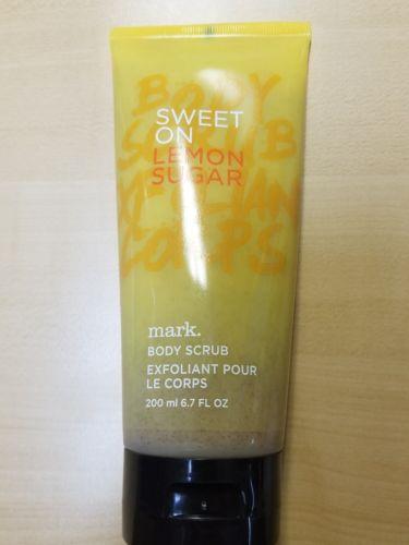 new Avon Mark Sweet on Lemon Sugar Body Scrub 6.7 oz